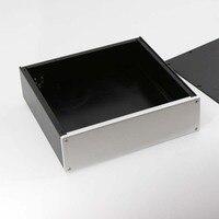 BZ3209B серебристый алюминиевый корпус усилителя/корпус для блока питания/DAC BOX