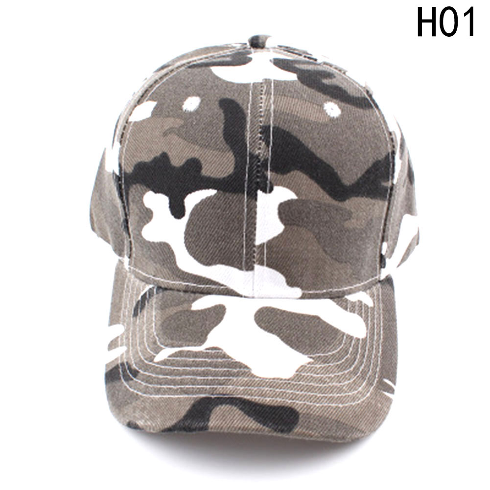 2018 Camouflage Half Mesh Army Hat Baseball Cap Desert Jungle Snap Camo Cap  Men Women Hats 6703d2741c6