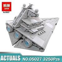 Лепин 05027 супер Звездный Разрушитель 05028 модель здания Конструкторы Совместимость LegoINGlys 10030 10221 Star IN Wars игрушечные лошадки звездолет 05077