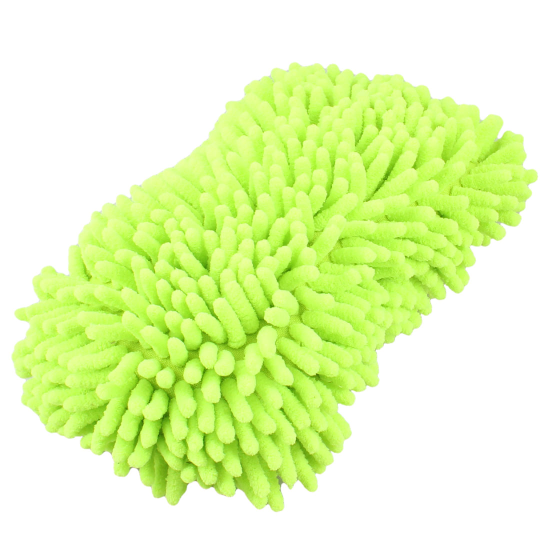 UXCELL Cleaning Cleaner Hand Strap Yellowgreen Wash Sponge For Auto Car