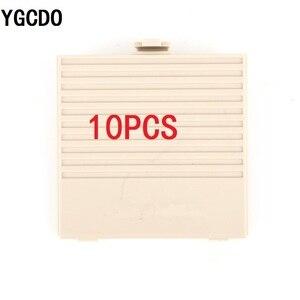 Image 2 - YGCDO 10 قطعة استبدال رمادي غطاء باب البطارية لنظام نينتندو الأصلي لعبة بوي