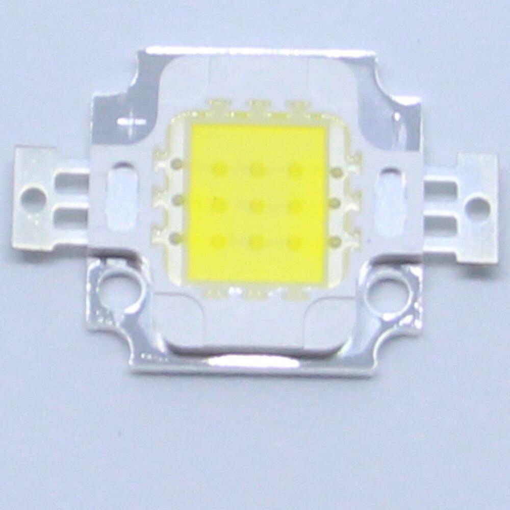 10PCS High power LED 10W integrated white light 6500K 3000K 4500K 8000K lighting light Epitrate 33MIL led bulb flashlight