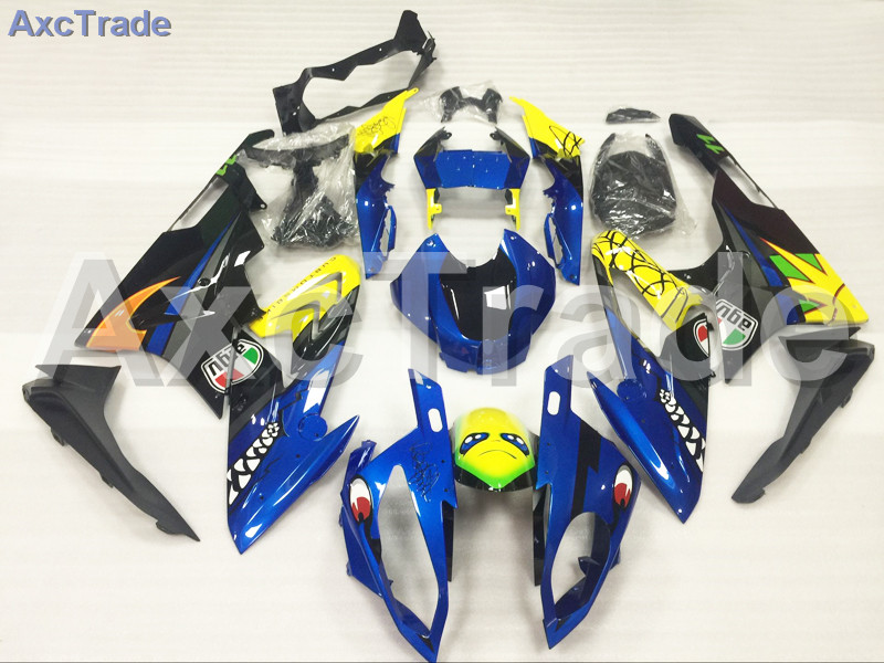 Motorcycle Fairings Kits For BMW S1000RR S1000 2015 2016 15 16 ABS Plastic Injection Fairing Bodywork Kit Yellow Blue Black A458 motorcycle blue bodywork kit fairing for bmw s1000rr s 1000 rr s 1000rr 2015 15 injection mold fairings cowl set uv painted
