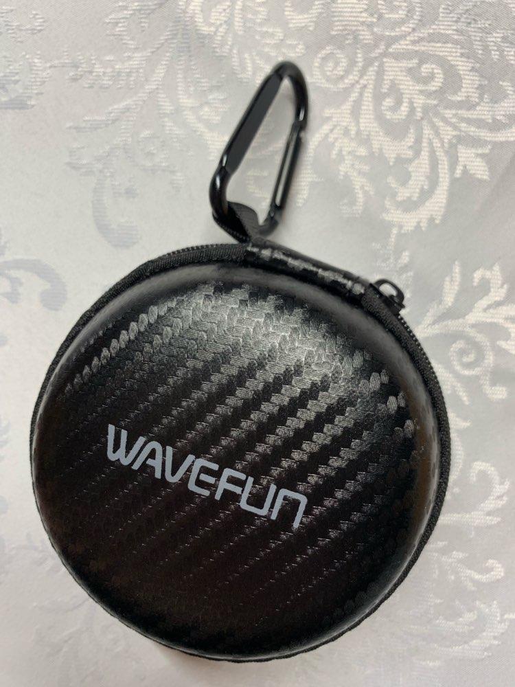 Wavefun Bluetooth 5.0 headphones IPX7 waterproof AAC wireless earphones sports bass earbuds with mic for iPhone xiaomi Huawei