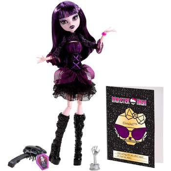 Doll Monster High Elizabeth-Fear! Camera! Motor!
