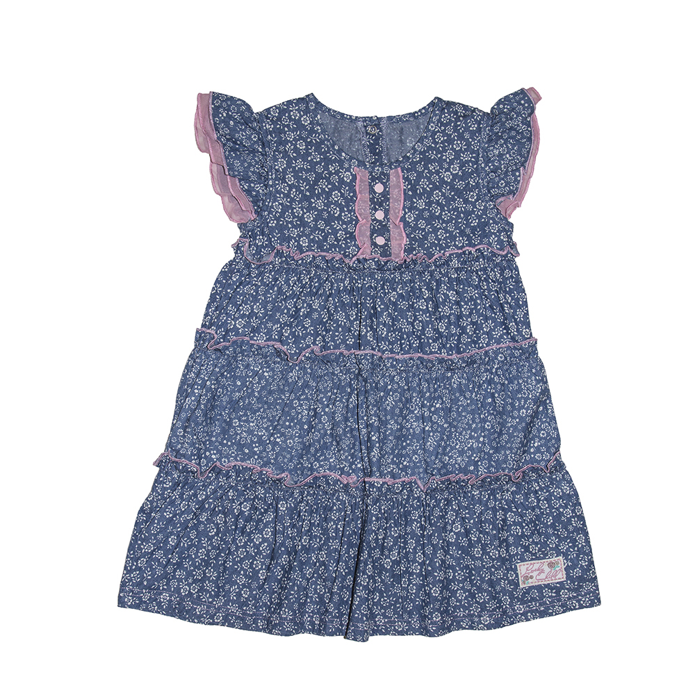 Dresses Lucky Child for girls 50-66 (18M) Dress Kids Sundress Baby clothing Children clothes summer dresses for girls cotton children clothing denim baby clothes floral sleeveless kids clothes girls princess dress 2 12t