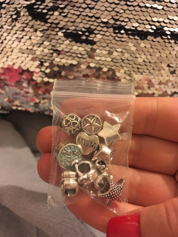 Pandora Шарм; Бусина материал:: Кристалл; браслет;