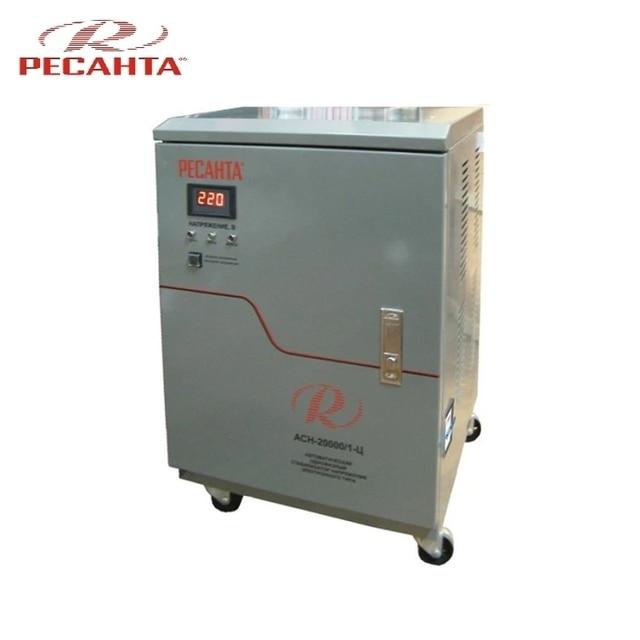 Одиночный стабилизатор фазного напряжения Ресанта АСН 20000/1-с