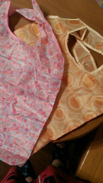 Fashion Foldable Handy Shopping Bag Reusable Tote Pouch Recycle Storage Handbags Randomly Sent 38*60cm photo review