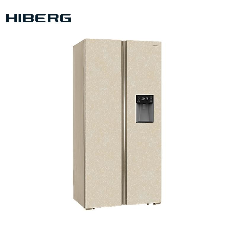 Refrigerator Side-by-Side  HIBERG RFS-484DX NFYm все цены