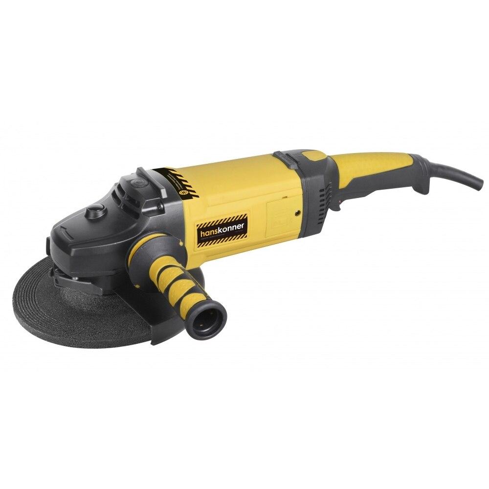 Angle grinder Hanskonner HAG24230ECH kalibr mshu 125 955 electric angle grinder polisher machine hand wheel grinder tool
