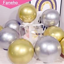 3pc DIY Birthday Party Decoration Helium Bobo Balloons Wedding metal Ballon Orbs Supplies