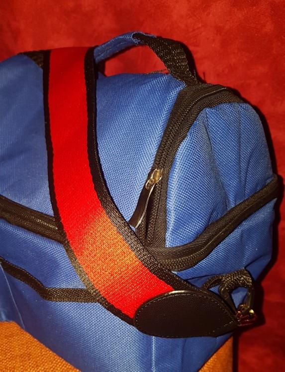 Mode Tas Accessoires Handtassen Riem Schouder Regenboog Kleur Stijl Katoen Kleurrijk Patroon Schouder Hals Tas Riem photo review