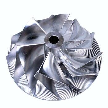 Kinugawa Billet Turbo Compressor Wheel 46.52/60.13mm 6+6 w/ Extend Tip for Isuzu TB25 TB28