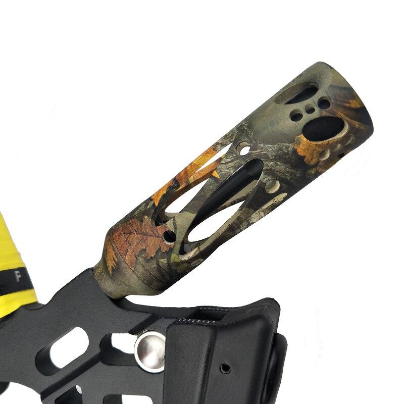 Lega di alluminio Compound Bow Stabilizer Ammortizzatore Ammortizzatore Tiro