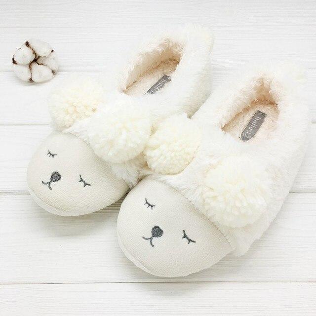 Тапочки Halluci «Медведи» белые со спинкой
