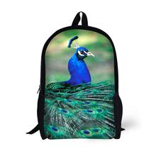 Peacock Printing Backpack Children School Bags For Teenager Girls 17 Inch Backpacks Laptop Backpack Mochila Bag star universe printing backpack bag children school bags for teenager boys girls backpacks laptop backpack