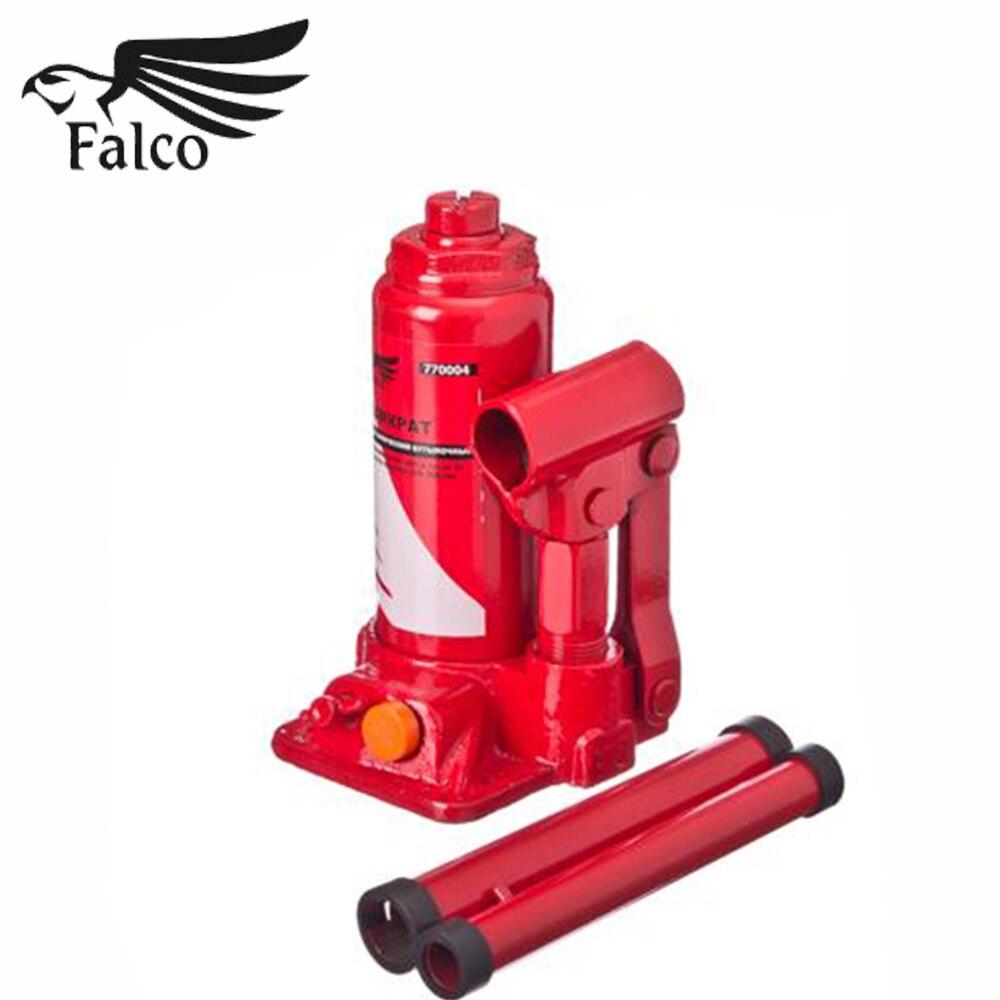 ДОМКРАТ FALCO | гидравлический | бутылочный | 2Т | в кейсе | высота подъема 150-285 мм |