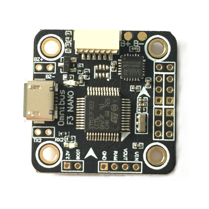 F3 Mini STM32F303 2-4S Flight Controller 20*20mm 3.7g Built-in 5V 3A BEC OSD LC Filter for RC Racing Drone Quadcopter micro minimosd minim osd mini osd w kv team mod for racing f3 naze32 flight controller