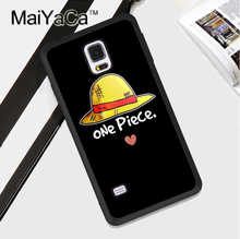 Anime One Piece Luffy Soft TPU Back Case Cover For Samsung Galaxy Note 3 4 5 S4 S5 S6 S7 Edge S8 Plus Phone Case