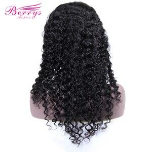 Image 5 - Curly HairวิกผมPre Plucked Baby Hair 13X4 ลูกไม้ด้านหน้าด้านหน้ามนุษย์Wigsสำหรับผู้หญิงสีดำpre Pluckedลูกไม้โปร่งใส