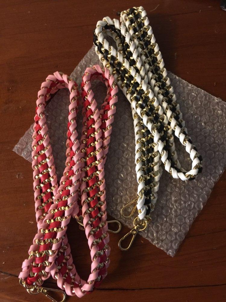 Nieuw 2019 design handgebreide riem met kniestuk riem trendy kettingtassen riemtas zak zak accessoire eenvoudig matchen qn138 photo review