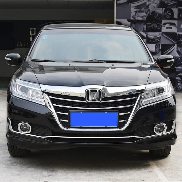Fog Lamp Grille exterior Excent decorative sticker strip mouldings car styling accessory accessories 16 FOR Honda Crider
