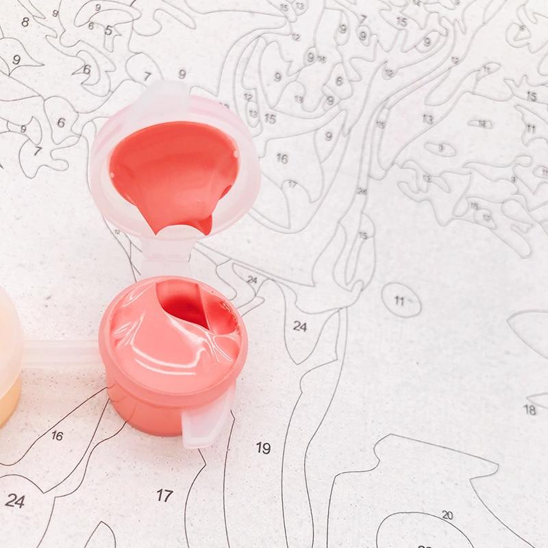 Marco de la Pintura de DIY Por Los Kits de Los Números de Venecia ...