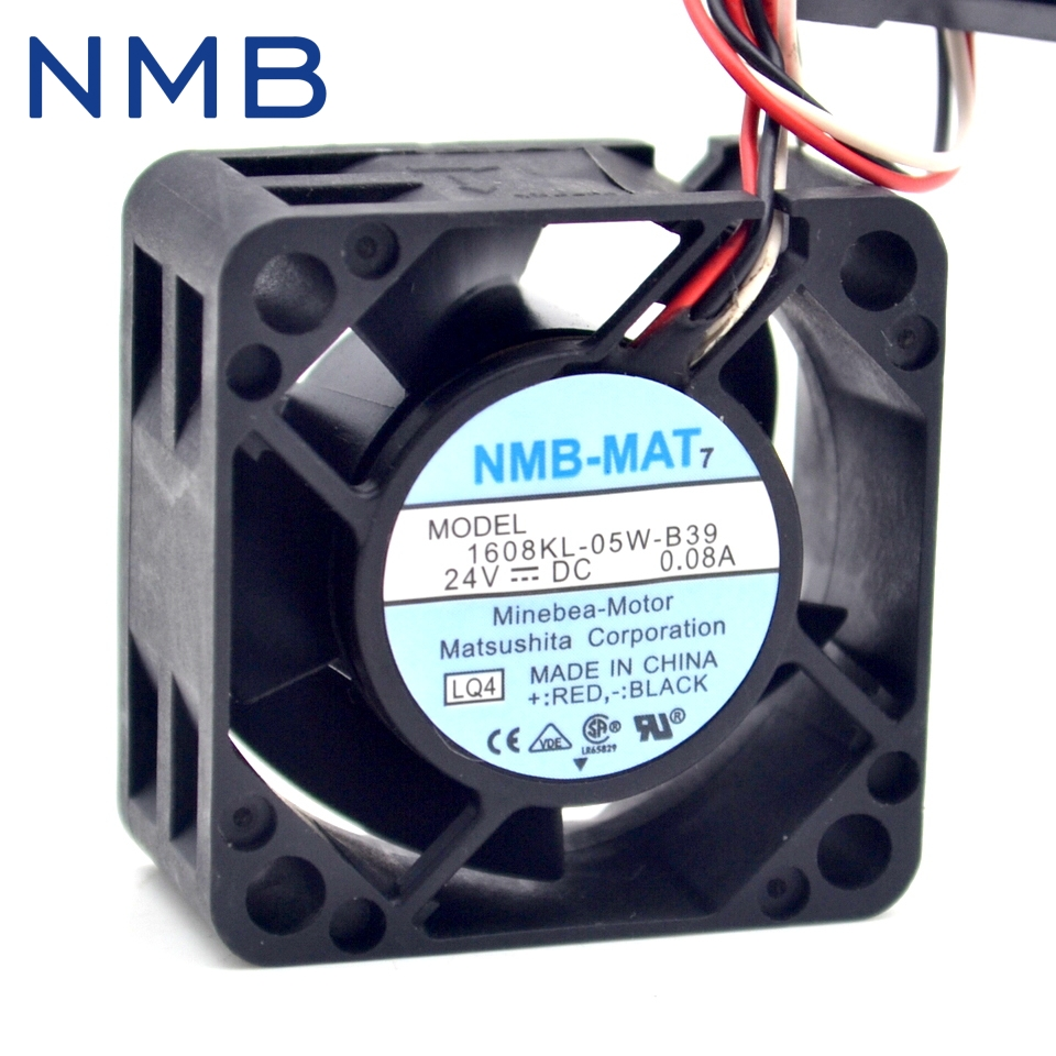 40*40*20mm 1608KL-05W-B39 4020 24V 0.08A Fanuc Fan Heatsink for nmb new original for fanuc system fan a90l 0001 0551 a nmb 1608vl 05w b49 24v 0 07a 40 40 20mm 4cm