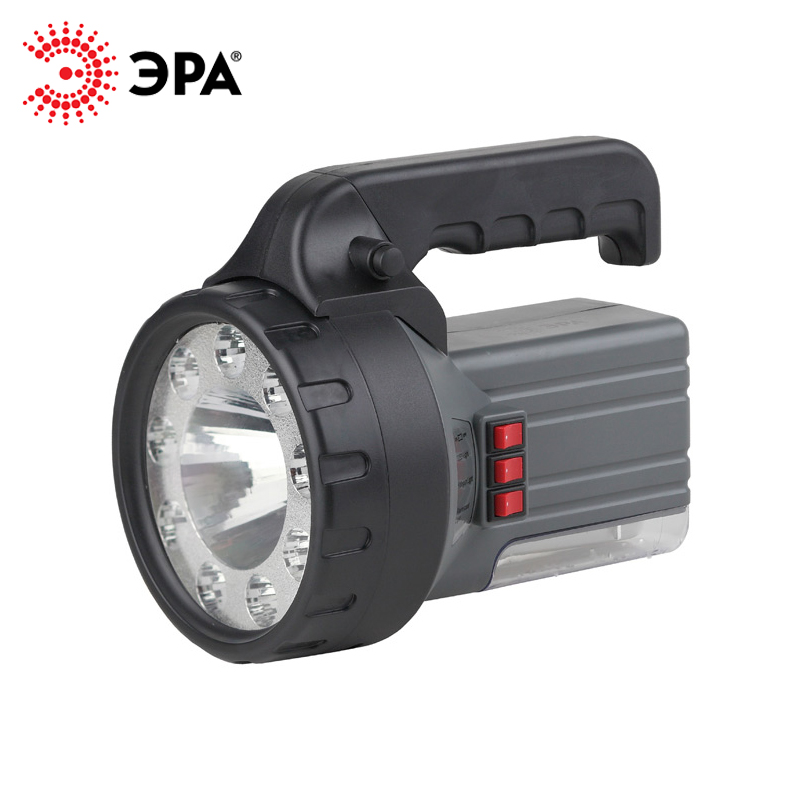 FA58M ERA flashlight rechargeable 2AH, 1 W + 9 + 18 LED, with charger 220 V lumintop tactical flashlight p16x 18650 flashlight with battery with cree xm l2 led torch type max670 lumens