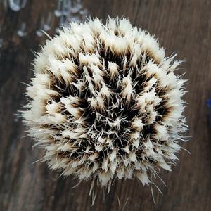 Image 3 - Dscosmetic hak borsuka żel do włosów wskazówka 3 węzłów pędzel do golenia czarny żywica uchwyt