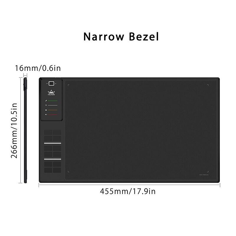 Image 2 - Huion giano WH1409 V2 ワイヤレスグラフィック描画タブレットデジタルペンタブレットチルト機能バッテリーフリーで 8192 レベルデジタル錠   -
