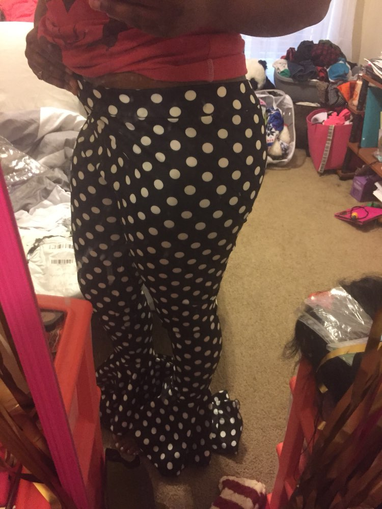 Hot Polka Dot Bell Bottoms photo review
