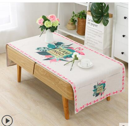 Us 26 28 9 Off Modern Simple Cotton Linen Tablecloth Coffee Table Cloth Decorative Cover Living Room Decoration Indoor In Tablecloths From