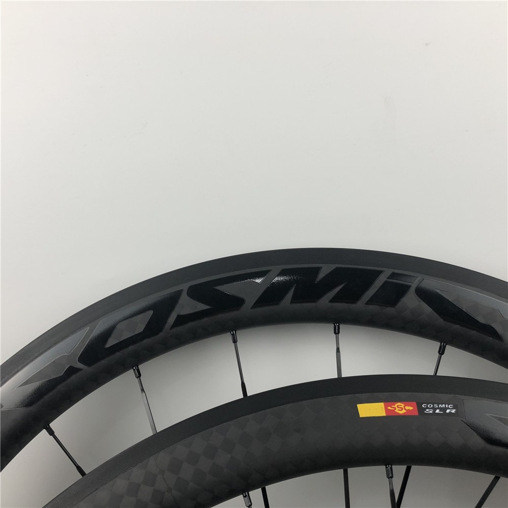 2019 lightweight 50mm 38 700C 12K Rims Road Bicycle Carbon Wheel COSMIC SLR bright black LOGO Cycling racing Clincher wheelset2019 lightweight 50mm 38 700C 12K Rims Road Bicycle Carbon Wheel COSMIC SLR bright black LOGO Cycling racing Clincher wheelset