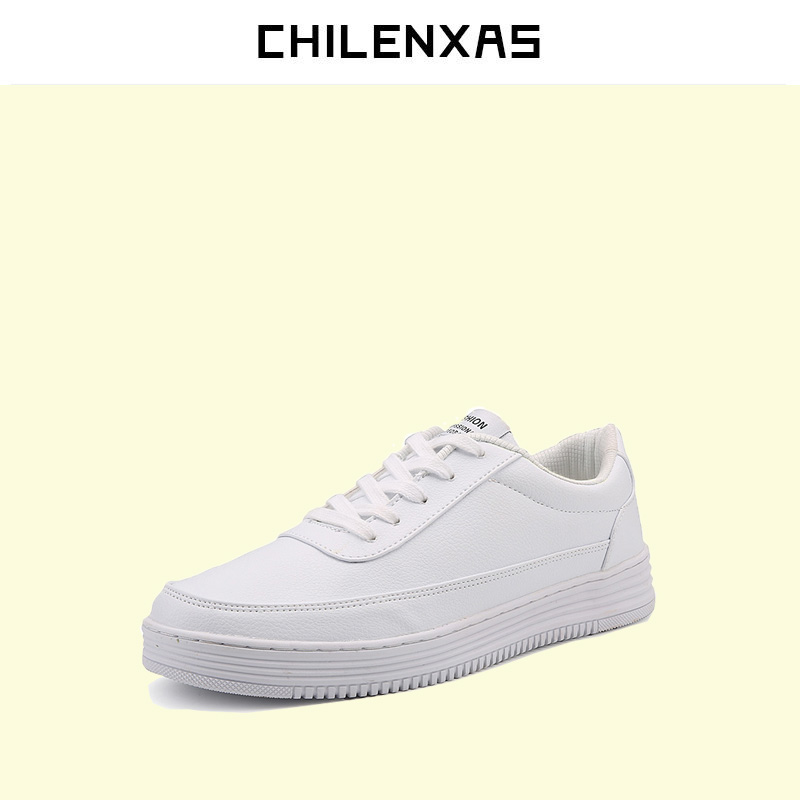 CHILENXAS 2017 Spring Winter Large Size 36 47 Leather font b Casual b font font b