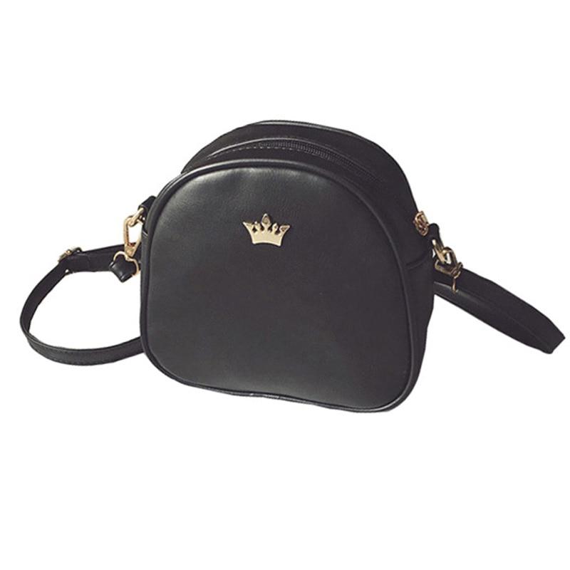Handbag Phone Purse Women Small Bag Crown Fashion High Quality PU Leather Women Shoulder Bag Small Shell Crossbody Bag