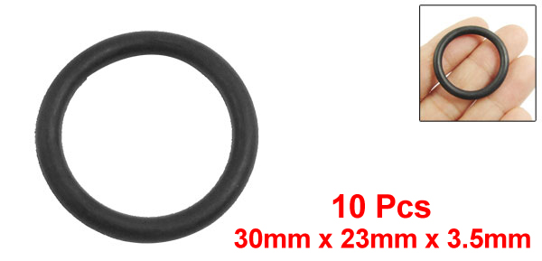 Uxcell 10Pcs 3 5Mm Thickness Red Silicone O Rings Oil Seal Gaskets Id 18mm 19mm 20mm 21mm 23mm 24mm 25mm 26mm in Gaskets from Home Improvement