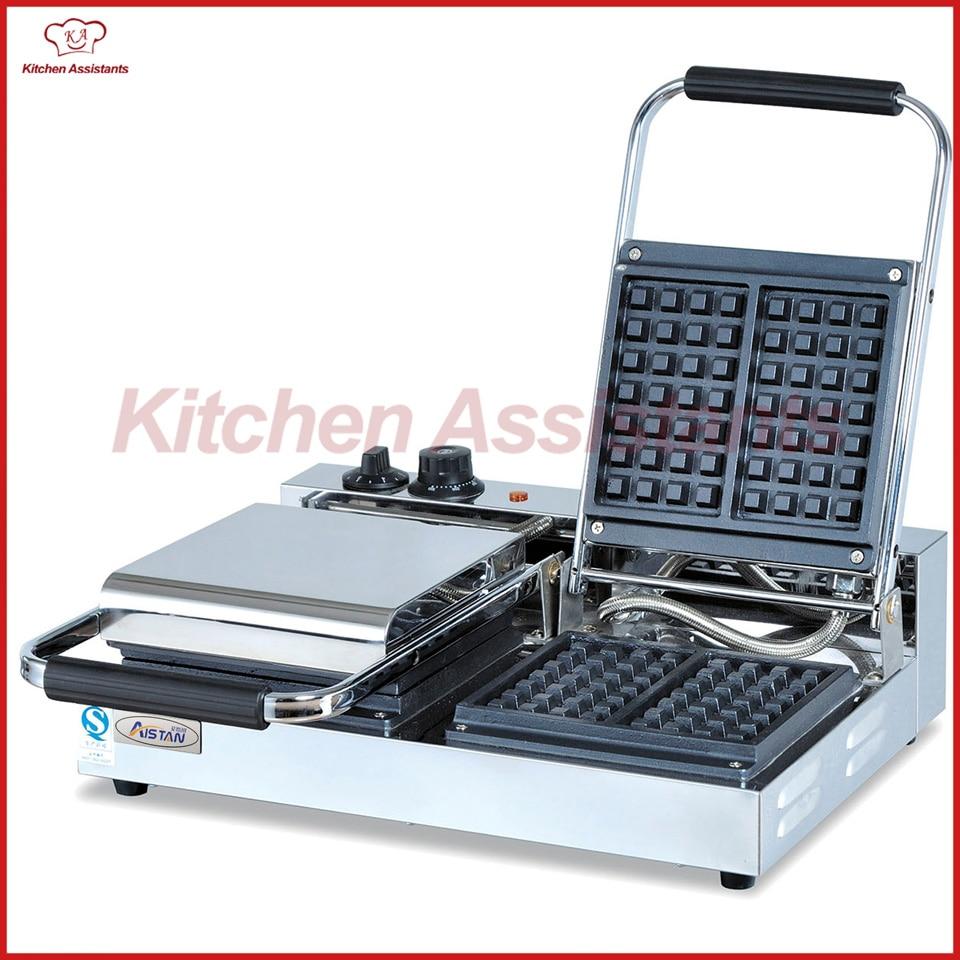 UWB1B-2 electric commerical counter top waffle baker making machine shanghai yatai instrumentation counter jc72t2 b