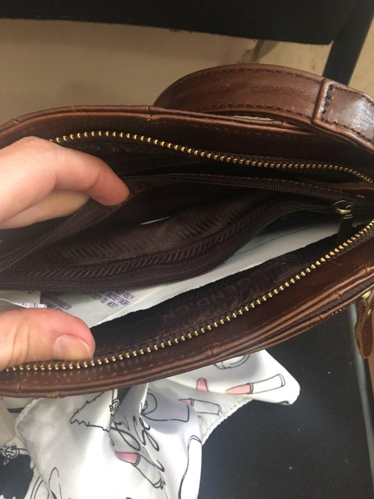 Cobbler Legend Multi Pockets Vintage Genuine Leather Bag Female Small Women Handbags Bags For Women Shoulder Crossbody Bag photo review