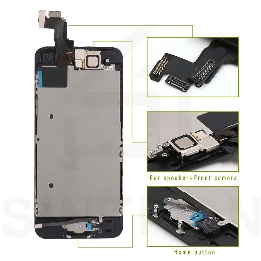 Sintron OEM For iPhone SE Screen Replacement Fully Assembled Black Panel Display Including Original Parts With Free Repair Tools in Mobile Phone LCD Screens from Cellphones Telecommunications