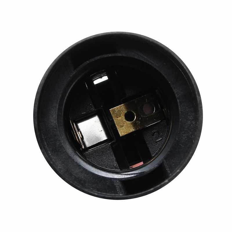 2M Cable US/EU/UK/AU Plug Lamp Base E27 Socket Lamp Base Holder For Reptile Ceramic Infrared Heat Emitter Bulb Light Lamp