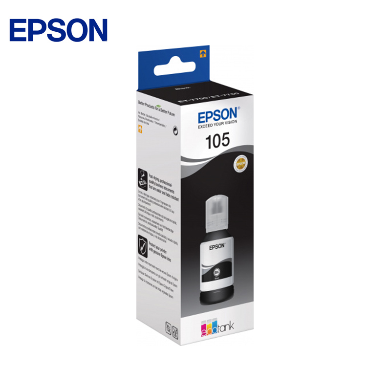 Epson ink container (black) epson ink container yellow