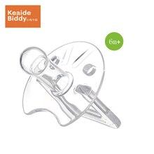 Bionics silica gel pacifier girl boy  highly elastic heat-resistant round head baby dummy nipple on sale KD3020