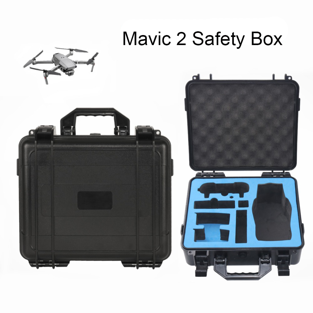 Safety Box Mavic 2 Pro Mavic 2 Zoom Bag Box High Capacity Storage Case for DJI Mavic 2 Pro Mavic 2 Zoom Drone Accessories квадрокоптер dji mavic 2 zoom
