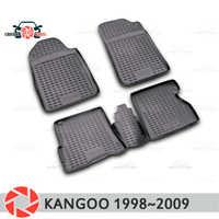 Tappetini per Renault Kangoo 1998 ~ 2009 tappeti antiscivolo poliuretano sporco di protezione interni car styling accessori