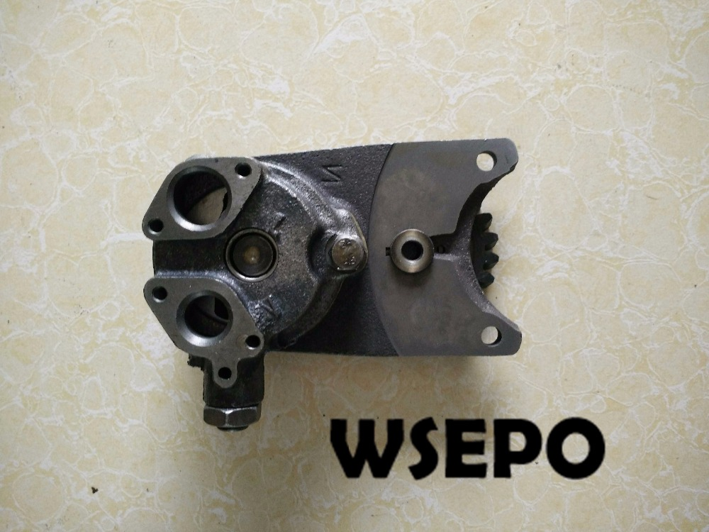 OEM Quality! Engine Oil Pump(Old Type) fits for Weichai K4100/4102 Water Cooled Diesel Engine,30KW Generator Parts цены онлайн