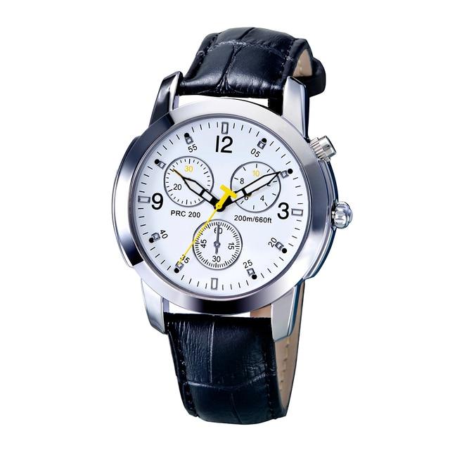 Deportes Podómetro Bluetooth Remoto Disparo Analógico de Cuarzo Elegante Reloj de pulsera de Regalo