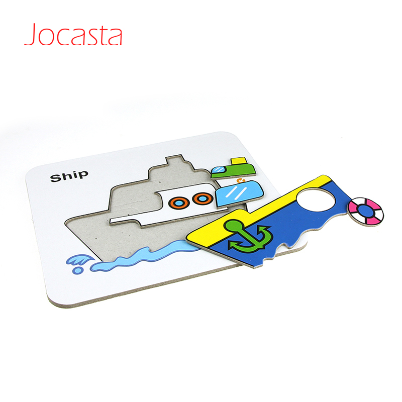 Interesting Kids Toy Puzzle card with Transport/ Animals Pattern Magical Water Painting Card Doodle Card 6 pcs Card 1 pcs Pen