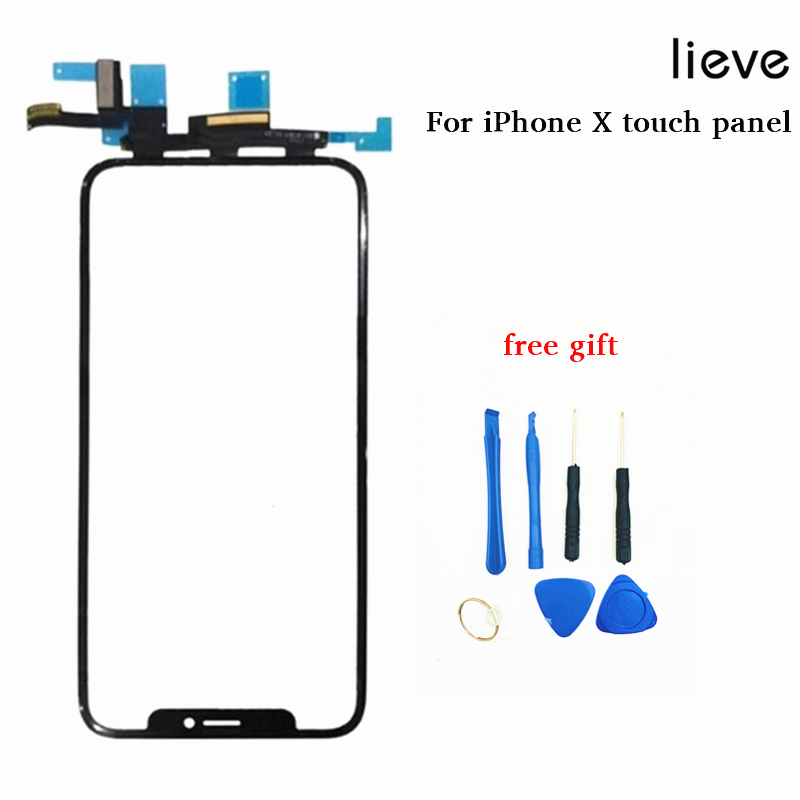 Grade AAA Touch Screen digitizer for iPhone X touch panel with flex cable iPhone X LCD screen